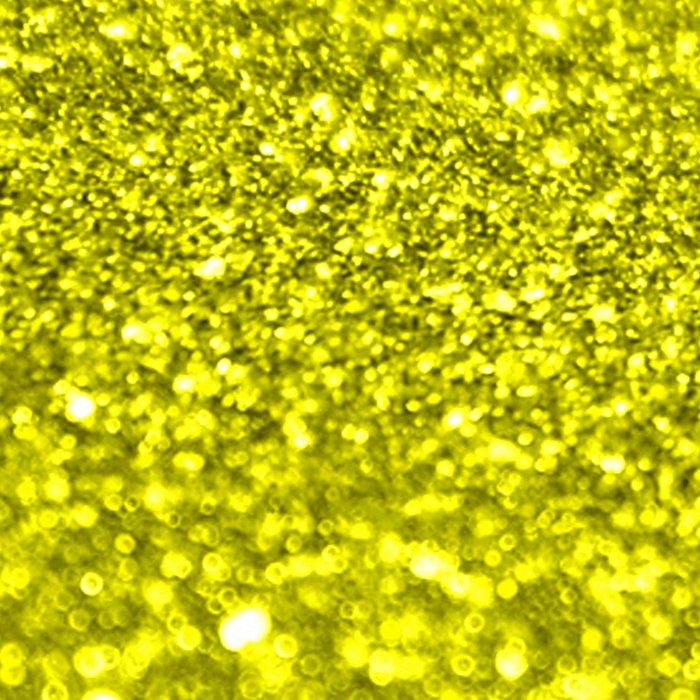 Bright Yellow Glitter Leggings