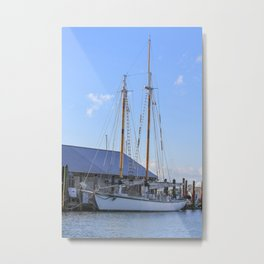 Getting Ready to Set Sail Metal Print