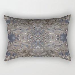 California Fall Grey Rectangular Pillow