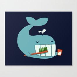 Brush Your Teeth Canvas Print