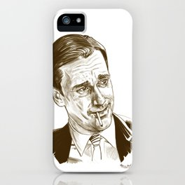 Don Draper (TV character played by Jon Hamm) iPhone Case