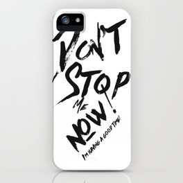 I'm having a good time! iPhone Case