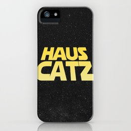 Haus Warz Tall iPhone Case