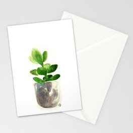 Simple Jadeplant Stationery Cards
