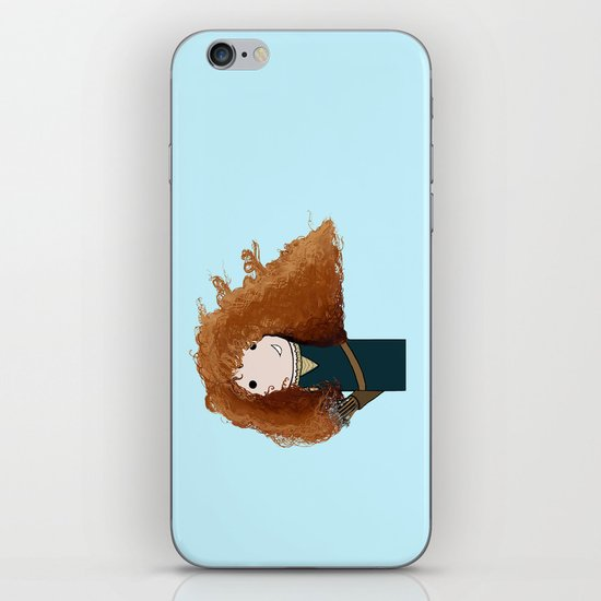 Merida Kokeshi Doll iPhone & iPod Skin