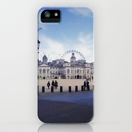 Whitehall horse guards. iPhone Case