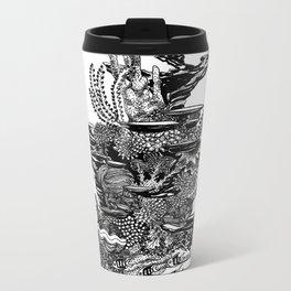 Coral Tower Metal Travel Mug