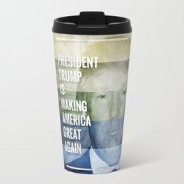 Patriot President Trump Travel Mug