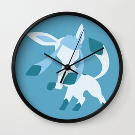 Glaceon Wall Clock