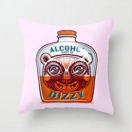 Makes me dizzy Throw Pillow