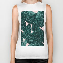 Tropical Leaves Vibes #1 #tropical #foliage #decor #art #society6 Biker Tank