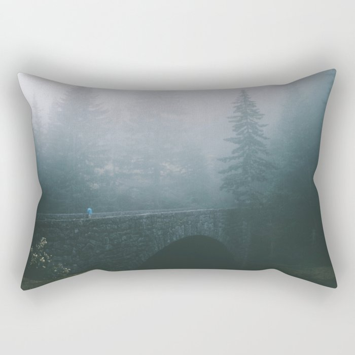 Stone Bridge Rectangular Pillow