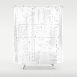 Twins-Since-1927---90th-Birthday-Gifts Shower Curtain
