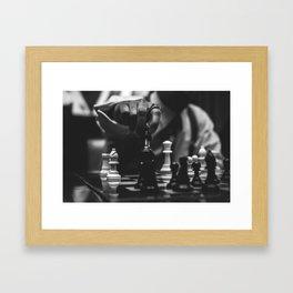 The Art of Chessboxing Framed Art Print