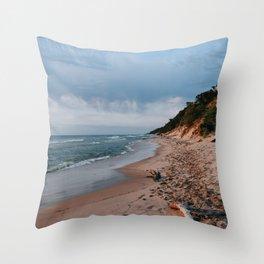 Saugatuck Dunes Throw Pillow