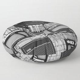 Vintage music Floor Pillow
