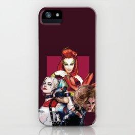 Gotham City Sirens iPhone Case