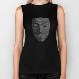 ...You May Call Me 'V' – So who's Anonymous? Biker Tank