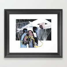 Panic Room Framed Art Print