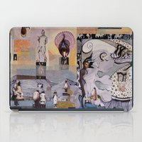 theater iPad Cases featuring Theater by NouriHeba