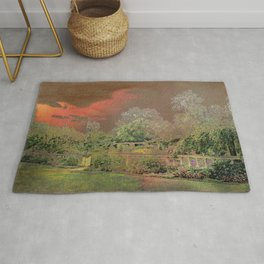 English Garden Sunset Rug