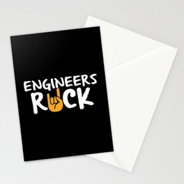 Engineers Rock Stationery Cards