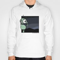 denver Hoodies featuring Denver Omelet by Delawhere Comics