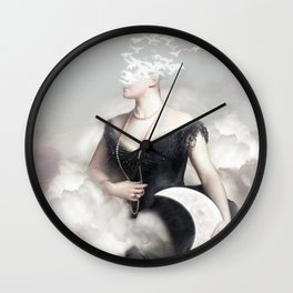Lost In Your Mind Wall Clock