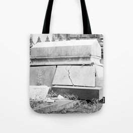very old grave Tote Bag