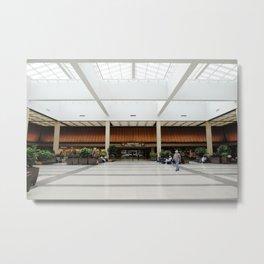 Airport Interior at Norfolk International Metal Print