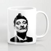 murray Mugs featuring Bill Murray by Spyck