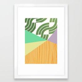 Kimono pattern 2 Framed Art Print