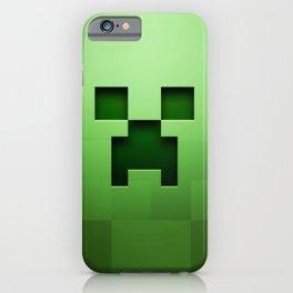 CREEPER MINION iPhone Case