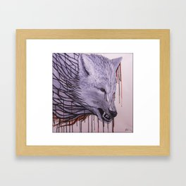 Ghost of the Nightwatch Framed Art Print