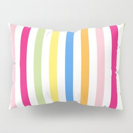 Neon Stripes Pillow Sham