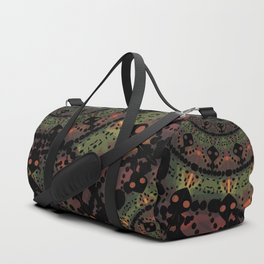 Mandala in Autumn Colors Duffle Bag