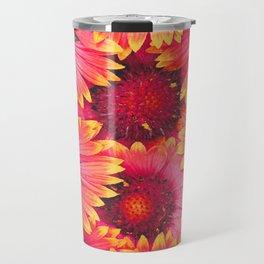 flowers Bright chamomile #society6 Travel Mug