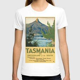 Vintage poster - Tasmania T-shirt