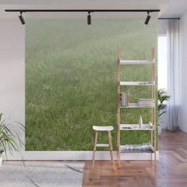 Light-to-Dark Green Ombre Gradient Grass Wall Mural