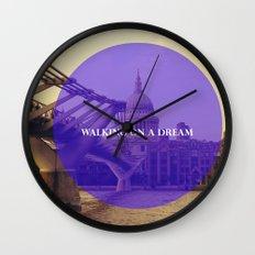 Walking On A Dream Wall Clock
