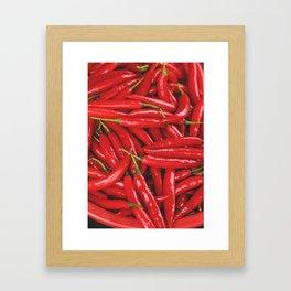 Chilies Framed Art Print