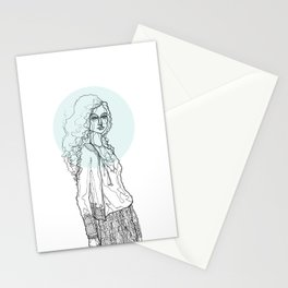Teal Nimbus Stationery Cards