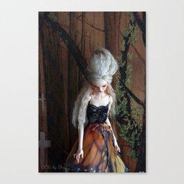 OOla mourning 2 Canvas Print