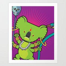 Oz Wizard Art Print