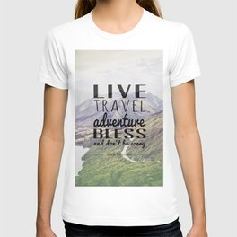 Jack Kerouac- Mountains T-shirt