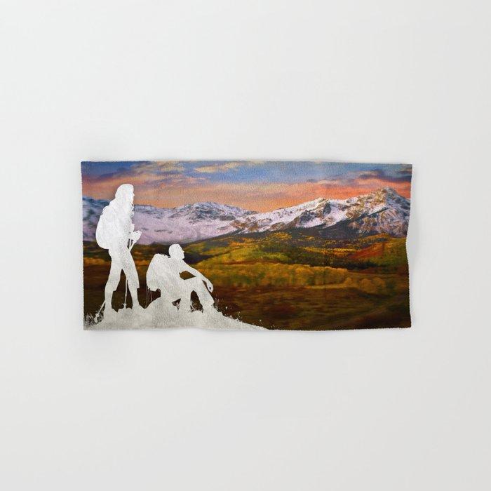 Autumn Hike Hand & Bath Towel