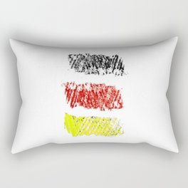 flag of germany II Rectangular Pillow