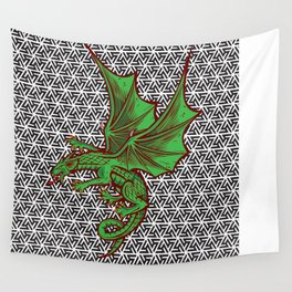 DRAGON MAZE Wall Tapestry