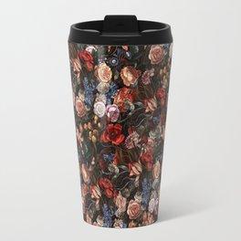 Vintage Summer Floral Travel Mug