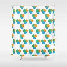 Tri Venn Summer Shower Curtain
